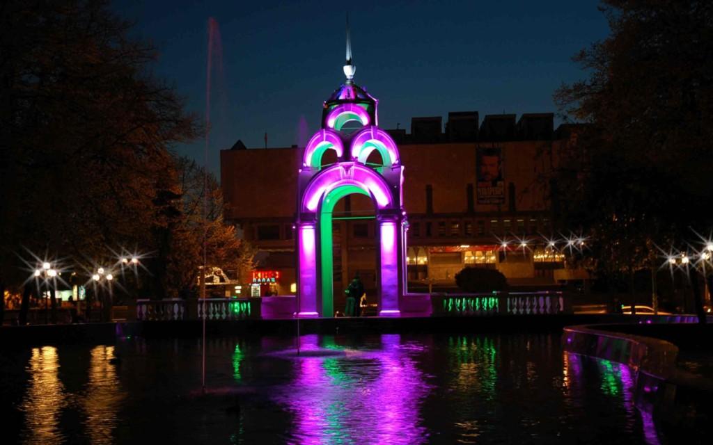 Уличное освещение LED светильниками