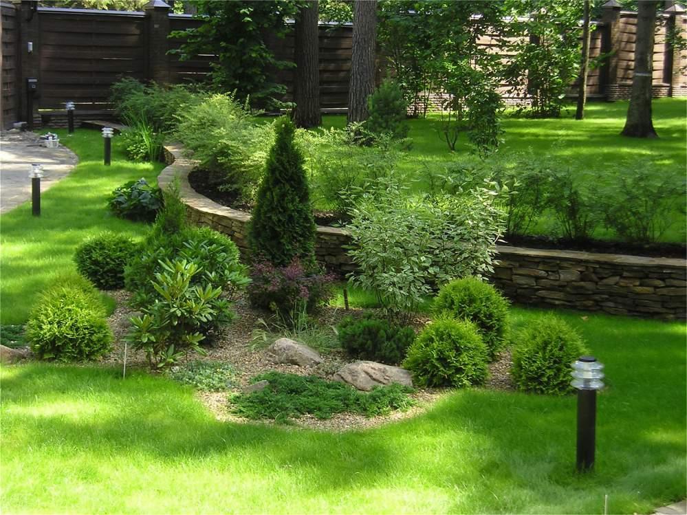 Несколько «пунктов» озеленения малых участков