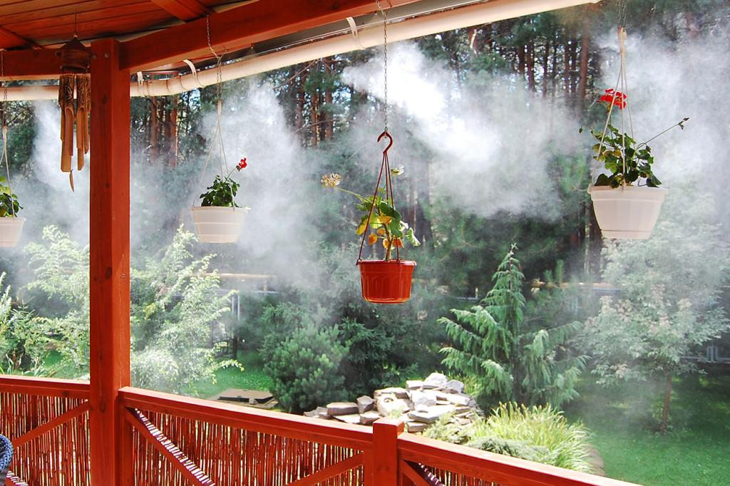 Охлаждение туманом